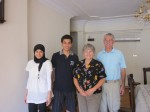 Visitors: Omneya and Abdelrahman