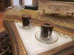 Turkish Coffee while visiting Abdelrahman's Grandmother
