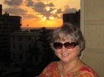 Mary Ann Enjoying the Sunset